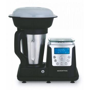 10in1 Thermo Multikocher Küchenmaschine Kochen Mixen Dampfgaren Thermomix Koch & Mix-Maschine 1.7L - 850W