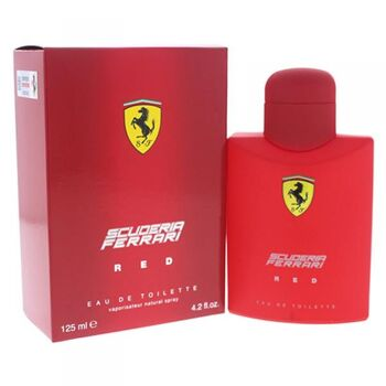 Ferrari SCUDERIA RED 125 ml edt spray #7189