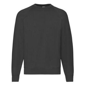 Fruit of The Loom Kinder Sweater Pullover Pulli Schwarz Restposten Mode