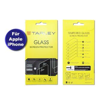 Panzerglas für Apple iPhone Premium Displayschutzfolie Panzerfolie Schutzglas Screen Protector Glass Anti-Kratzen Anti-Bläschen Anti-Finger