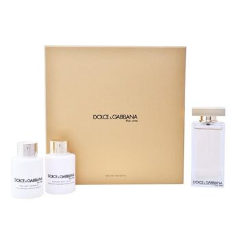 Set D&G THE ONE EDT 100ML + BODY LOTION 100ML + SHOWER GEL 100ML