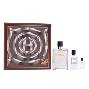 Set Terre d'Hermes edt 100ml + Aftershave 40ml + edt 5ml