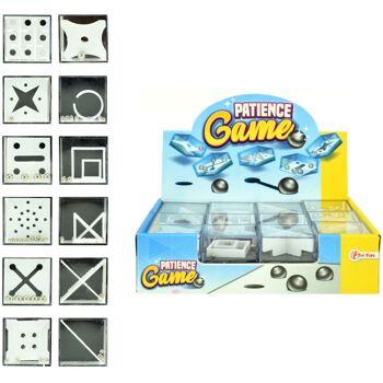 28-354638, Geduldsspiel, Knobelspiel, Denkspiel, Geduldspiel, Mitgebsel Kindergeburtstag