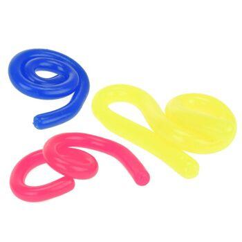 28-358964, Sticky Rope 2er Set, dehnbares Seil, super flexibel, leicht klebend, zum Ziehen und Drehen