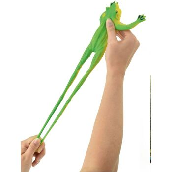 28-370553, Stretch Frosch 19 x 15 cm, aus Gummi