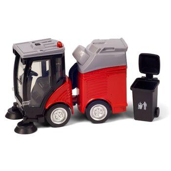 28-066605, Kehrmaschine 28 cm, Auto für Straßenreinigung, mit Antrieb