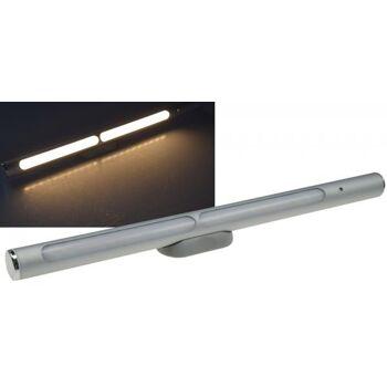 LED Akku-Leuchte Magnethalter LxØ 30x2cm 2W, 570lm, Alu, warmweiß