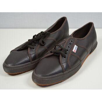 SUPERGA 2075-FGLU Unisex Leder Sneaker UK 8 2/3 EUR 43 Schuhe 30121609