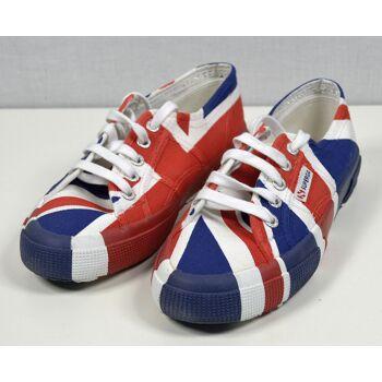 SUPERGA 2750 Cotu Flag United Kingdom Unisex Sneaker Gr.37 Schuhe 30121600