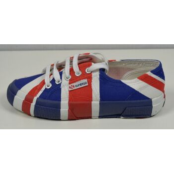 SUPERGA 2750 Cotu Flag United Kingdom Unisex Sneaker Gr.37 Schuhe 30121600