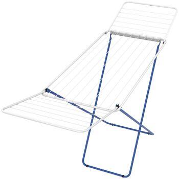 Wäscheständer 0,50x1,80m in blau Wäsche Ständer Leine Wäscheleine Trockner