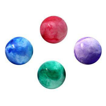 27-71567, Aufblasball marmoriert, 20 cm, Spielball, Wasserball, Beachball