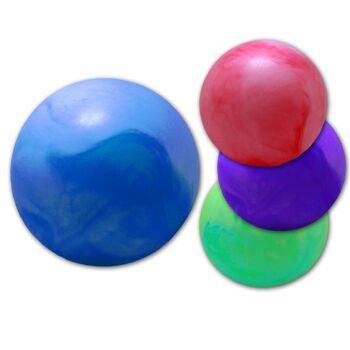27-71623, Aufblasball 35 cm, marmoriert, Wasserball, Spielball, Beachball