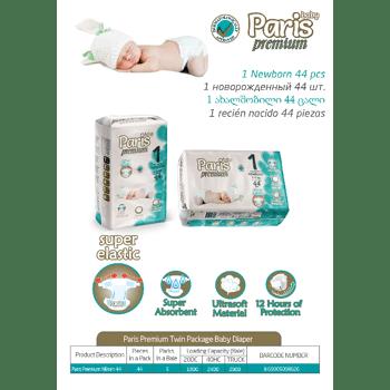 Paris Premium Babywindeln Windeln Baby Deapers Grosse 1,2,3,4,5,6