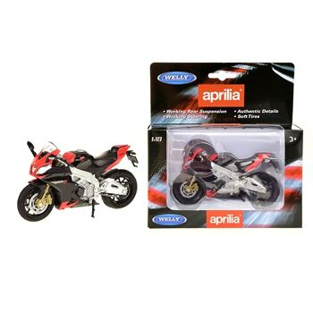 27-47512, WELLY 1:18 Aprilia RSV 4 Factory rot