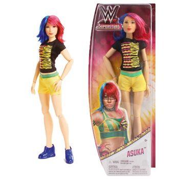 27-50147, Mattel Puppe WWE Superstars Asuka 33 x 14 cm