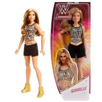 27-50148, Mattel Puppe WWE Superstars Carmella 33 x 14 cm