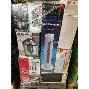Haushaltsartikel A, B, C, Ware Palette Elektrogeräte Küchenkleingeräte