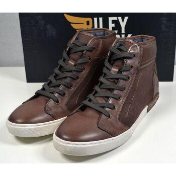 Riley & Clark Herren Leder Stiefel Boots Gr.44 Herren Schuhe 31121604