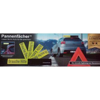 12-1046719, Pannenfächer für Autofahrer 5 Schilder