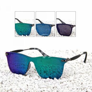 LOOX Sonnenbrille Wien flat glass schwarz