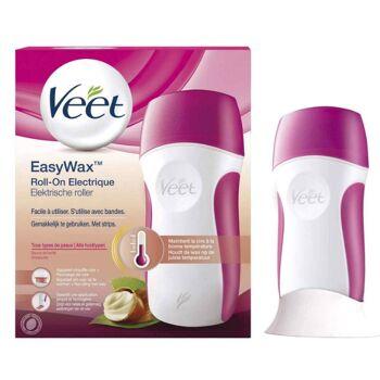 Veet EasyWax Elektrisches Warmwachs Roll-On-System