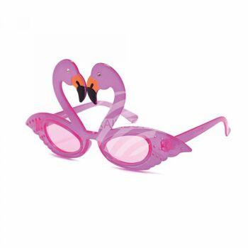 VIPER Funbrille Partybrille Sonnenbrille Flamingo rosa