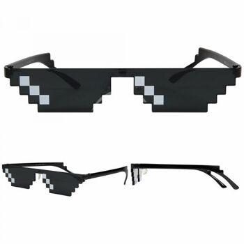 VIPER Funbrille Partybrille Sonnenbrille Swag Hipster