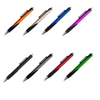 1000x Kugelschreiber GROSSE Mine (Nachfüll Mine) Farbe wählbar: Orange, Blau, Schwarz, Rot, Gold, Grün, Grau, Lila