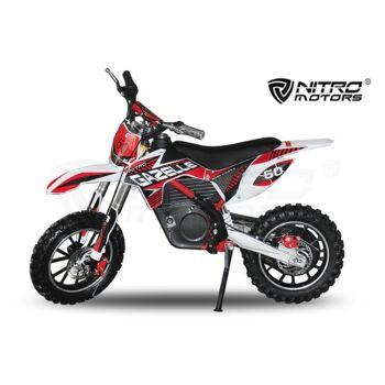 500W 36V Eco Gazelle Elektrobike Dirtbike Crossbike | Lithium Batterie Trendartikel