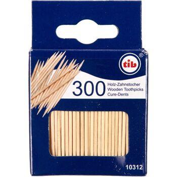 28-103121, Holz Zahnstocher 300er Pack