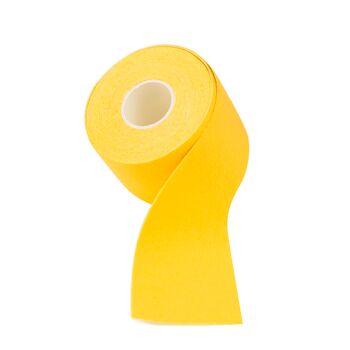 144x Kinesiologie Tape Kinesiology Sport Tape Physiotape Physio 5cm x 5m Farbe: Gelb
