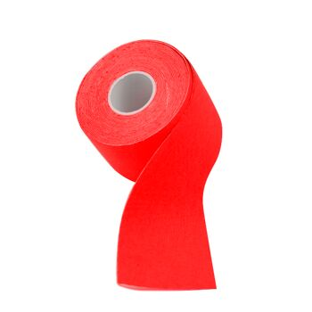 24x Kinesiologie Tape Kinesiology Sport Tape Physiotape Physio 5cm x 5m Farbe: Rot