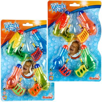 28-732943, SIMBA Wasserpistolen 4er Set, Warergun