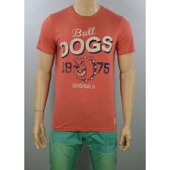 Jack & Jones Fonter Tee SS Crew Neck T-Shirt Gr.L Slim Fit Shirts 3-1190