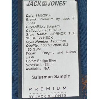 Jack & Jones JJNOR Tee SS Crew Neck PR T-Shirt Gr.L Slim Fit Shirts 5-1190