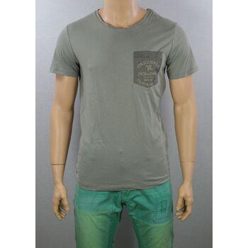 Jack & Jones JJORPump Tee SS Crew Neck T-Shirt Gr.L Slim Fit Shirts 7-1190
