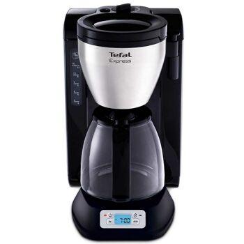 Tefal Filterkaffeemaschine aus Edelstahl