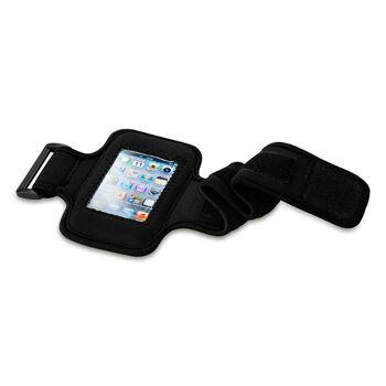 Sport Armband Protex für Smartphones, Größe bis iPhone 8, in Schwarz