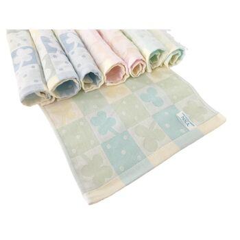 Baumwolle Waschlappen 25 x 25 cm 4 Farben 8 Stück in einen Paket