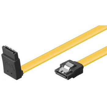 HDD S-ATA Kabel 1.5GBits / 3GBits / 6GBits S-ATA L-Type L-Type 90° 0,5m