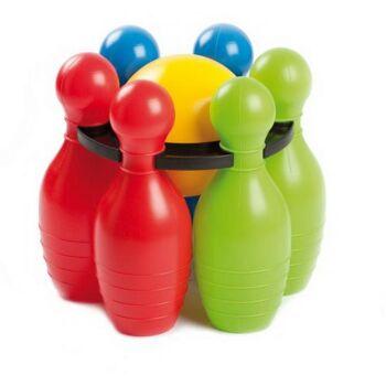 Jumbo Bowling Set 6 Kegel + 1 Kugel, 1Stück