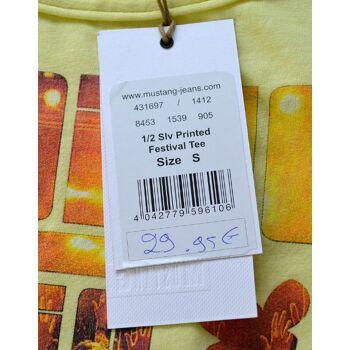 Mustang Damen T-Shirt Printed Festival Tee Shirt T-Shirts Shirts 4-202