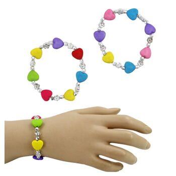 27-80163, Armband Stern und Herz, Modeschmuck, Armbänder