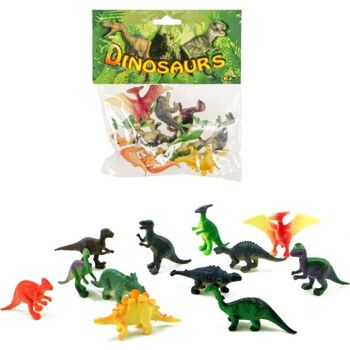 27-80188, Spielfiguren Dinosaurier 45-60mm