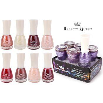 Mix Posten Nagellack Kosmetik Makeup Art Nail Polish Rebecca Queen Sommer Maniküre in diversen Farben für nur 0,12 Euro