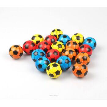 06-6123, Soft Ball, 4cm, PU, Fussball, klassisch, Fußball, zum kneten und knautschen, Antistressball