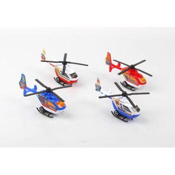 06-8143, Helikopter 15 cm mit Rückzug, Hubschrauber