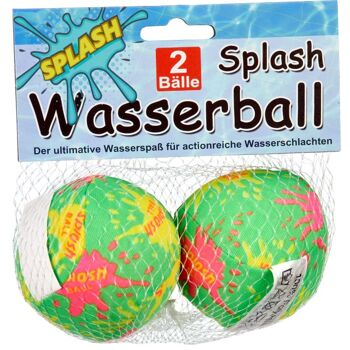 28-114746, Wasserball Splash Set, Beachball, Spielball
