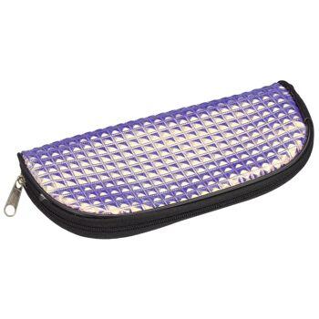 28-662834, Brillenetui mit Hologramm, mit Reißverschluß, Brillentasche